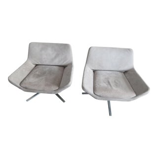 "Jeffrey Bernett for B&B Italia ""Metropolitan"" Armchairs - Set of 2"