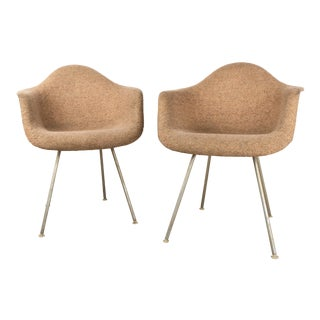 1960's Vintage Eames Style Shell Chairs- A Pair For Sale