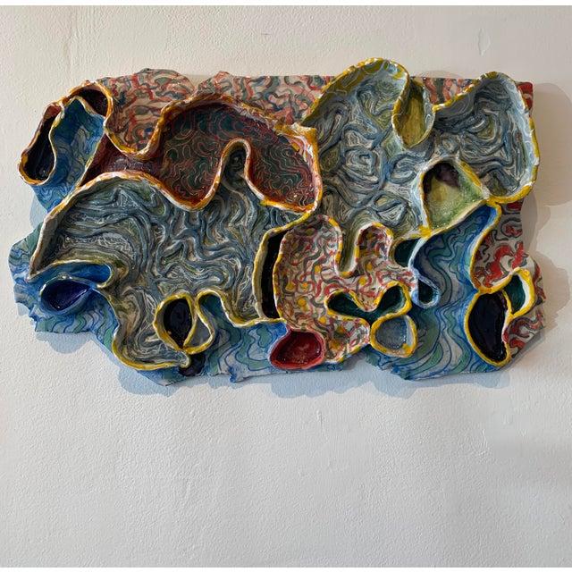 Molecular Porcelain Sculpture Nancy VanKanegan For Sale - Image 4 of 4