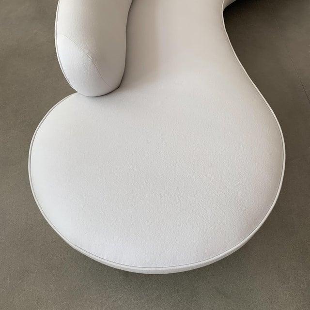 Wood Vladimir Kagan Serpentine Sofa for Directional For Sale - Image 7 of 13
