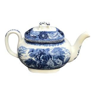 Antique Wood & Son English Porcelain Teapot