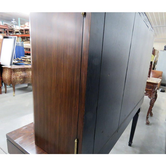 Art Deco Style Rosewood Bar For Sale In Philadelphia - Image 6 of 10