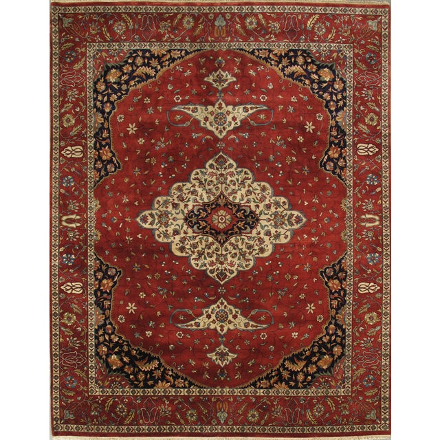 """Pasargad's Ferehan Area Rug- 7'11"""" x 10' 0"""" - Image 1 of 2"""