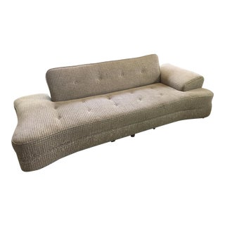 1950's Mid-Century Convertible Dog Bone Sofa-Final Markdown For Sale