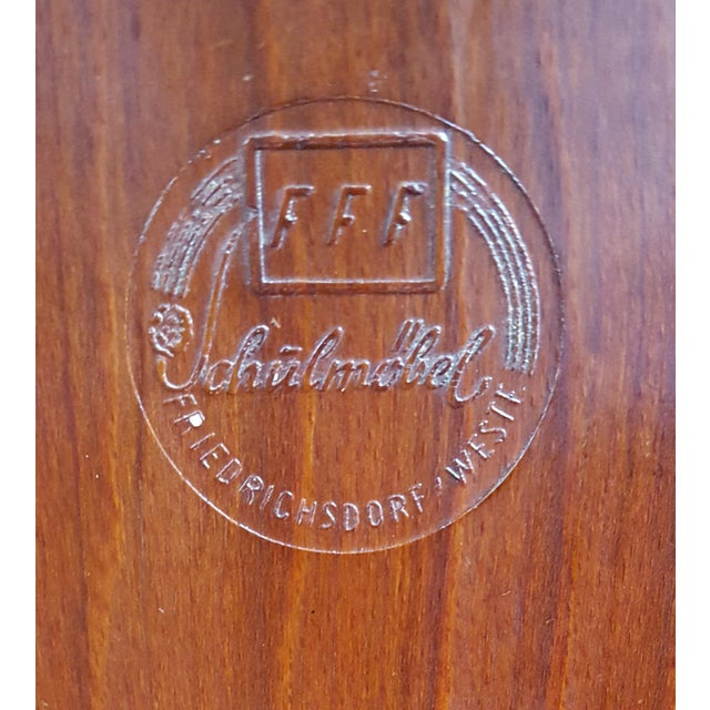 Pagholz Flötotto Set Four German Mid Century Modern Plywood Chairs Designed by Adam Stegner for Pagholz For Sale - Image 4 of 5