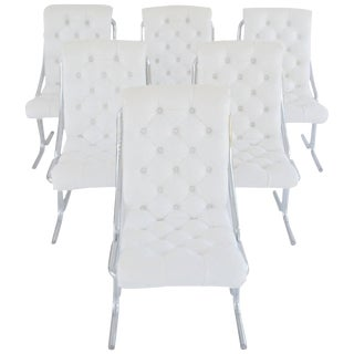 Set of Six Midcentury Dining Chairs For Sale