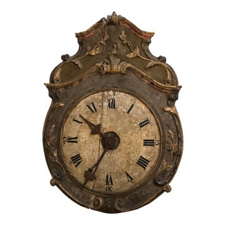 18th Century Italian Wall Clock