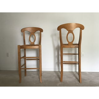 Modern Pottery Barn Barstool Chairs- A Pair Preview