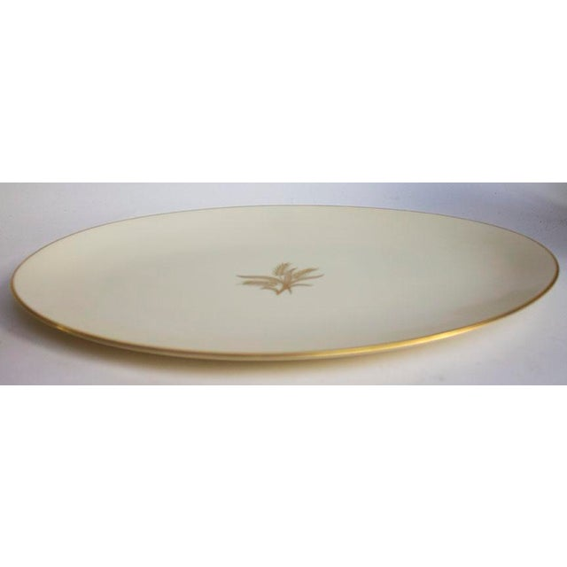Vintage Lenox Platter in the popular Wheat pattern which is discontinued (made between 1940-1982 )