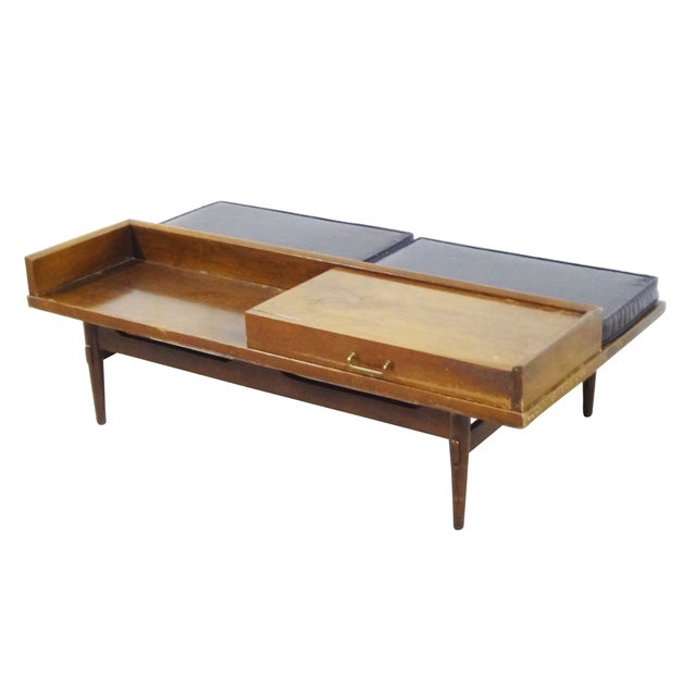 American of Martinsville Coffee Table Bench - Image 1 of 10