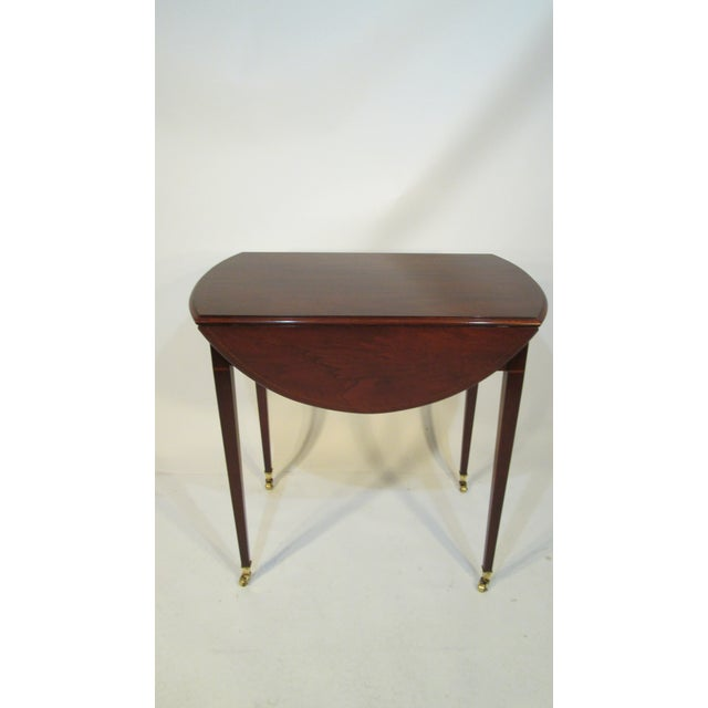 Beacon Hill Traditional Beacon Hill Collection Pembroke Table For Sale - Image 4 of 12