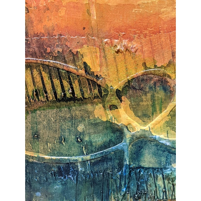 Terra Firma Abstract Painting For Sale - Image 4 of 5