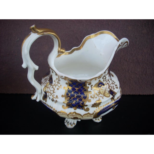 Early 19th Century Antique Gaudy Welsh Sugar & Creamer For Sale - Image 4 of 8