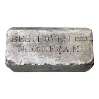 Beethoven Lodge Stone