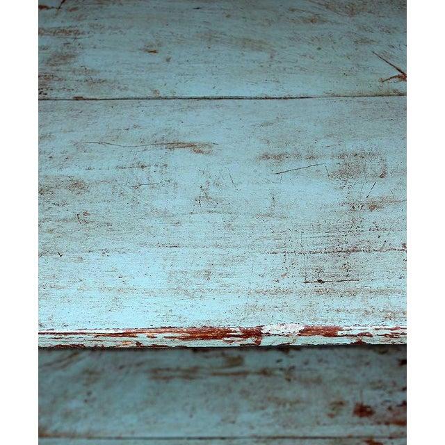 Teal Vintage Baker's Cabinet II - Image 5 of 5