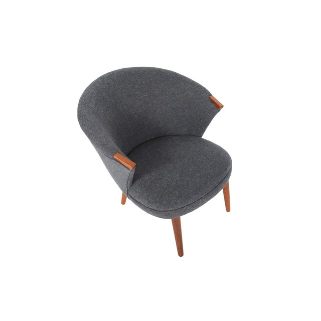 Bent Møller Jepsen Wool Lounge Chair - Image 3 of 8