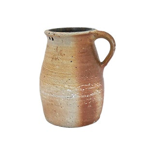 Antique French Terra Cotta Water Jug For Sale