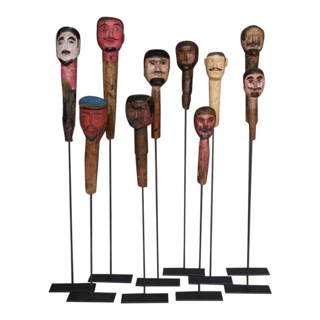 Folk Art Sculptures For Sale