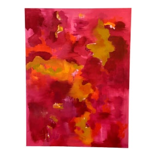 "Abstract Painting ""heartbeat"" by Jennifer Hopkins-Wilcox For Sale"