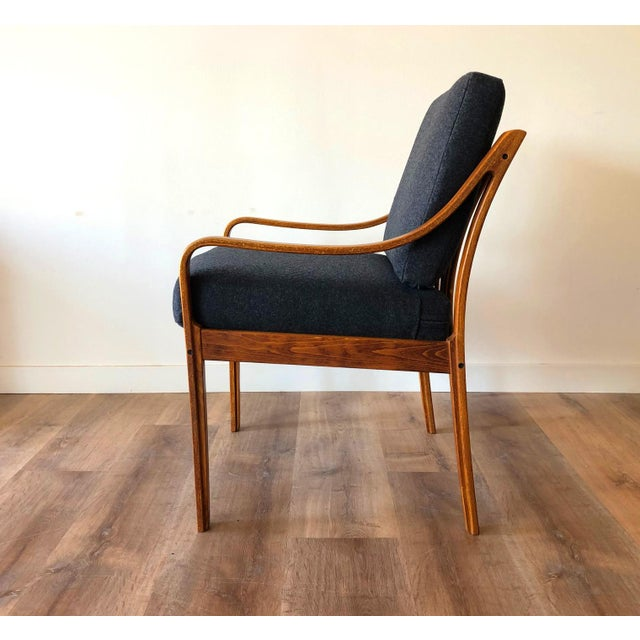 Danish Mid-Century Modern Side Chair by j.m. Birking For Sale - Image 4 of 13