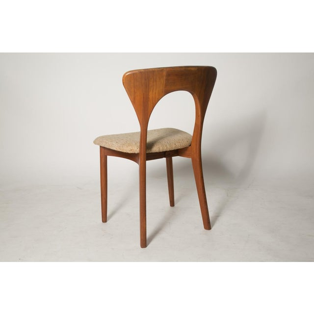 Mid-Century Modern Key Hole Dining Chair - Image 4 of 4