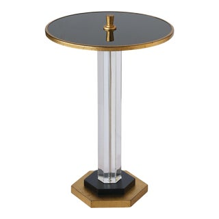 Art Deco Style Madcap Cottage Crystal Drinks Table For Sale