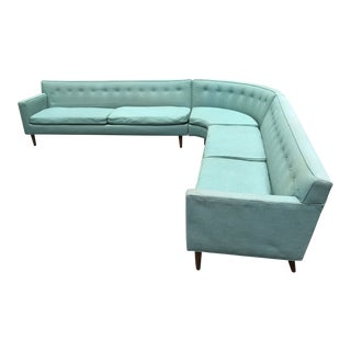 Edward Wormley Sectional Sofa for Dunbar