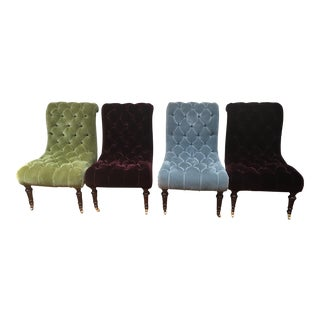 George Smith Dominic Dining Chairs - Set of 4 For Sale