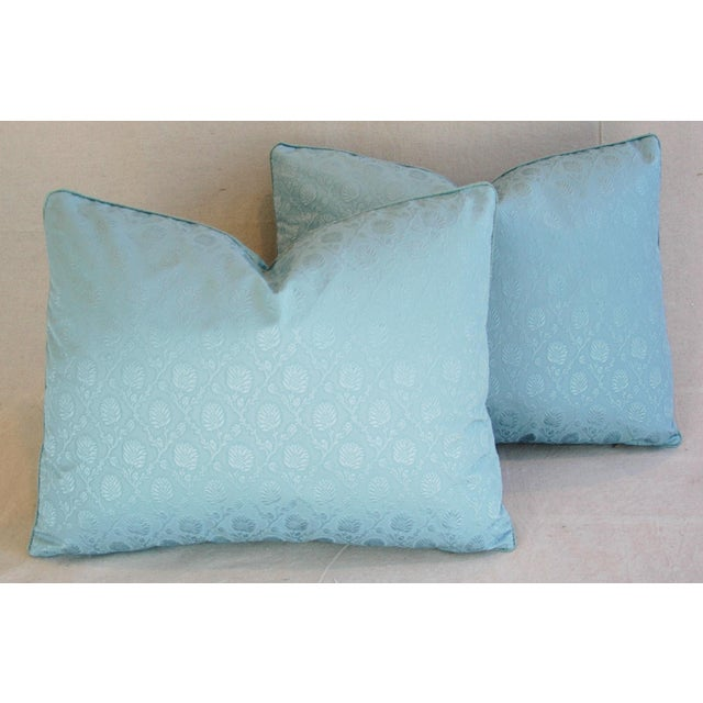 Powder Blue French Lelievre of Paris Pillows - a Pair - Image 2 of 11