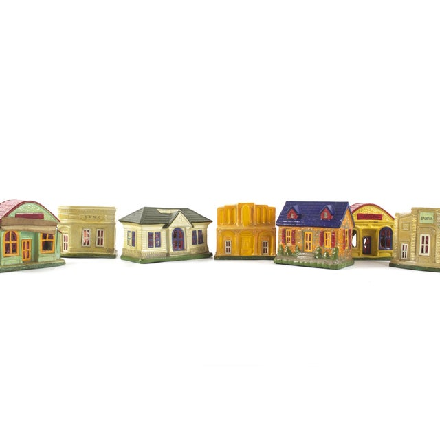 Vintage Houses, Made in Japan - Set of 18 - Image 4 of 5