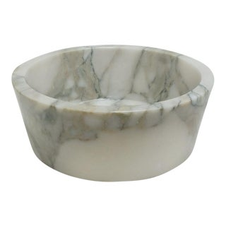 Custom Calacatta Gold Marble Vessel Sink