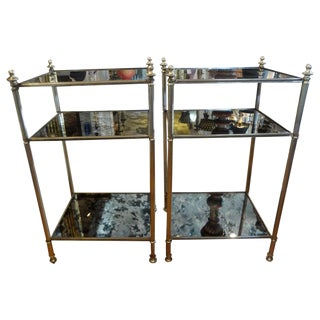 French Maison Jansen Style Tables-A Pair For Sale