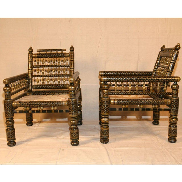 Painted Indian Wedding Chairs