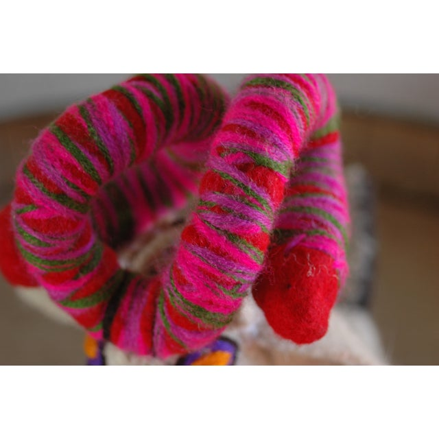 Mexican Felted Wool Animal - Image 4 of 5