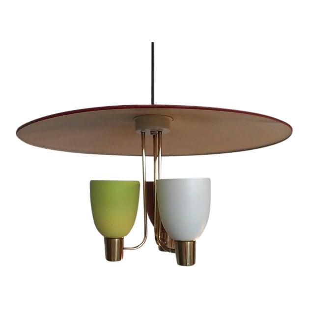 vintage 60s atomic italian style pendant light chairish