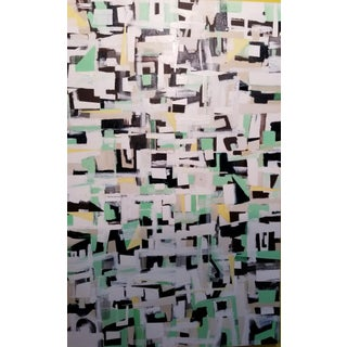 Abstract Pattern Painting by Michael Costantini For Sale