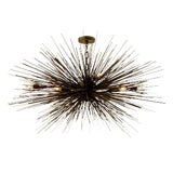 Image of Eight-Light Lumière Chandelier by Jean De Merry Design For Sale