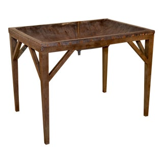 19th Century English Dairy Side Table For Sale