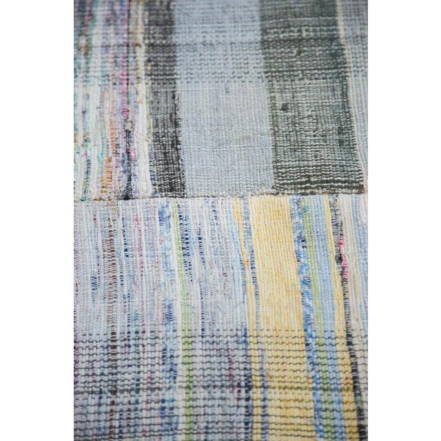 """Rag Rug Prices: Vintage Handwoven Rag Rug - 5'7"""" X 9'2"""""""