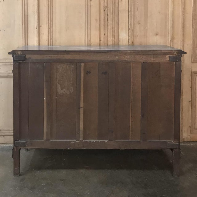 Antique French Louis XVI Marble Top Buffet For Sale - Image 12 of 13