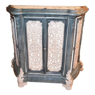 Antique French Victorian Style Radiator Cover For Sale