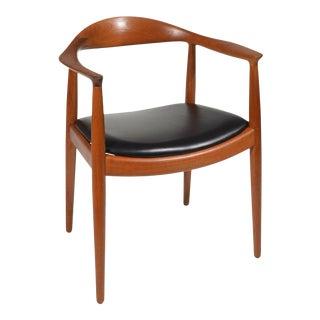 Early Hans Wegner for Johannes Hansen Jh-503 Chairs in Teak For Sale