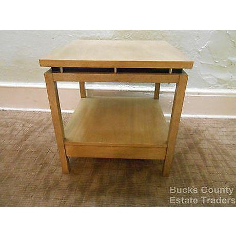 American of Martinsville Cathay Casuals Mid Century End Table (James Mont Era) For Sale - Image 9 of 13