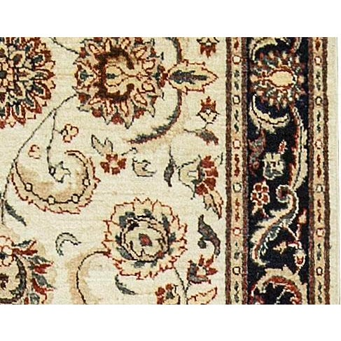 "Traditional Traditional Hand Woven Rug - 4' x 5'10"" For Sale - Image 3 of 4"