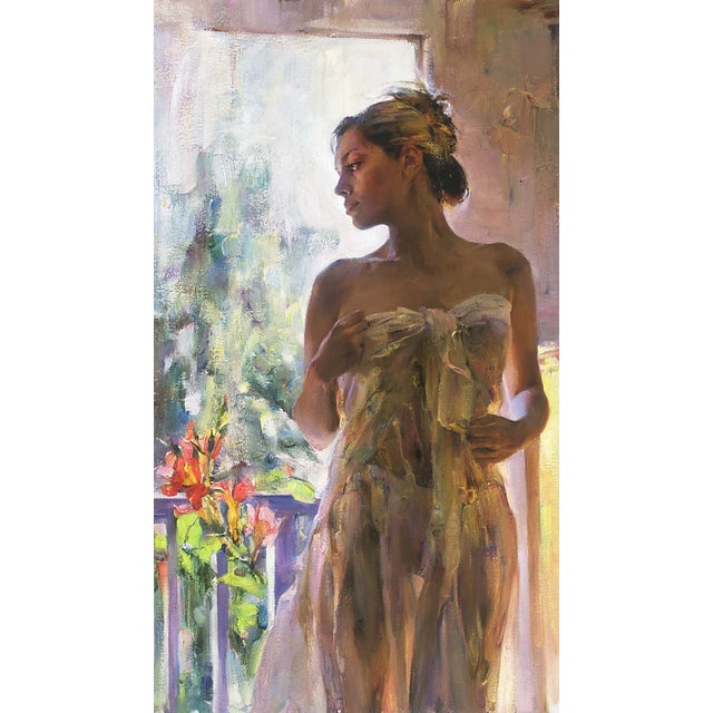 "Garmash ""Rare Beauty"" Giclee on Canvas - Image 1 of 2"