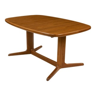 Danish Skovby Teak Dining Table For Sale