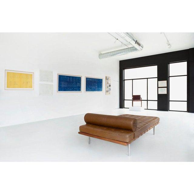 Mies Van Der Rohe Blueprint, Crown Hall, Chicago, 1954, North Platform For Sale - Image 12 of 13