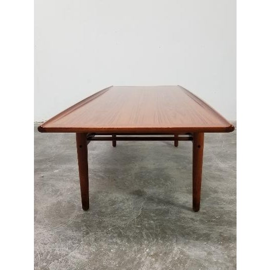 Wood 1960s Mid-Century Danish Coffee Table by Grete Jalk For Sale - Image 7 of 11