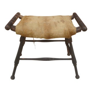 Curule Bench Savonarola Curved Seat Tabouret Stool For Sale