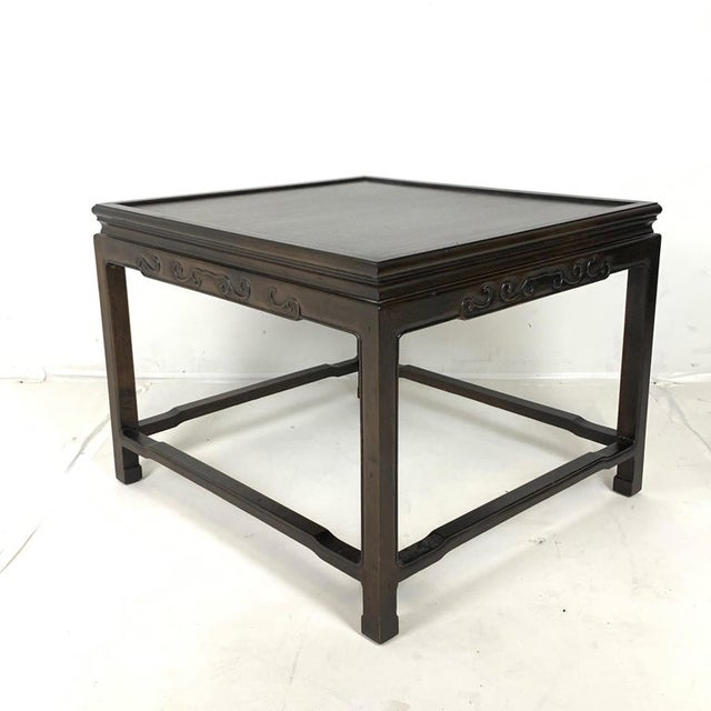 Pair of Mario Buatta for Widdicomb Asian Chinoiserie Ebonized Nesting Tables For Sale In New York - Image 6 of 13